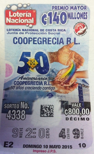 Lotería coopegrecia